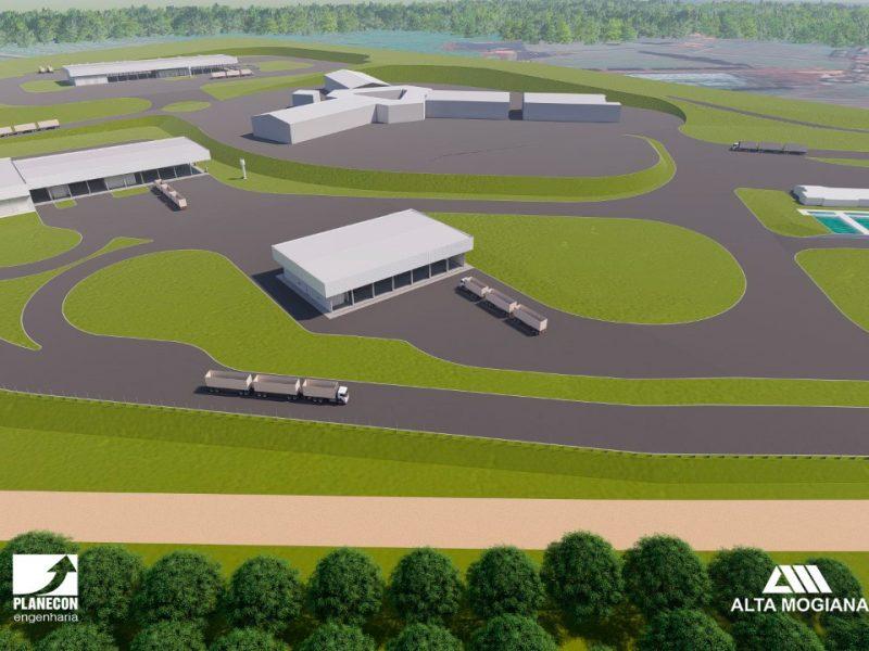 Projeto Planecon Engenharia para Alta Mogiana